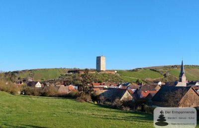 Burgruine und Bergfried Schwabsburg