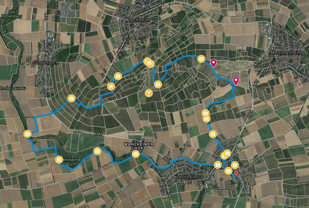 Joggen fürs Wandern am Selzbogen (24.03.2020)