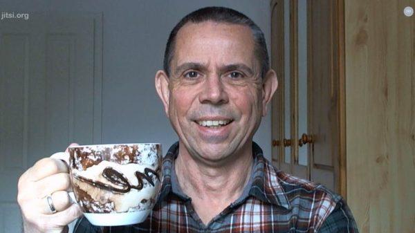 Virtuelles Kaffeetrinken mit dem Entspannenden