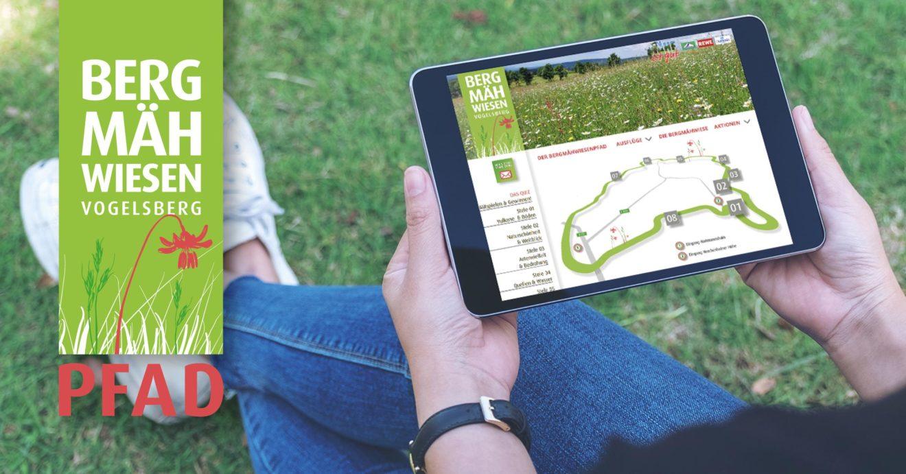 Bergmähwiesenpfad Vogelsberg: Virtuell wandern, gewinnen und spenden für einen guten Zweck [Werbung]