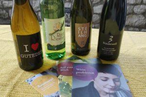 Weine für die Königliche Weinprobe mit Julia Böcklen