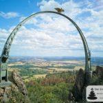 Der Adlerbogen am Moltkefelsen am Donnersberg