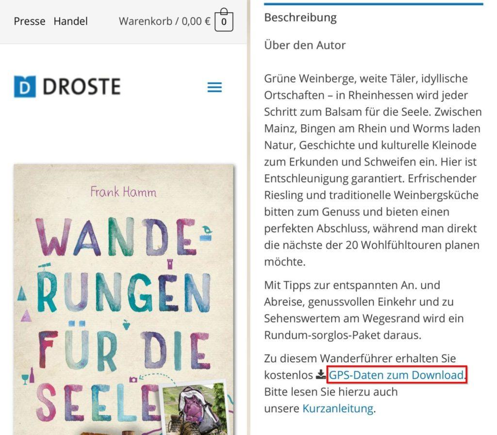 Droste-Verlag: Rheinhessen. Wanderungen für die Seele (Mobil-Version), Download