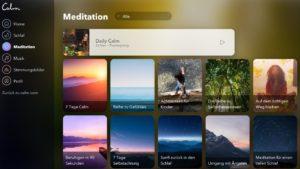 Calm.com: Meditation